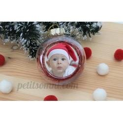 Bola de navidad personalizada con foto