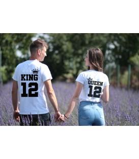 Pack 2 camisetas pareja