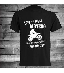 Camiseta papa motero