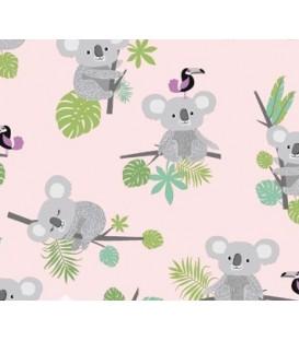 Tela Koala 100% algodon