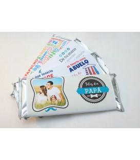 Chocolate para Papá personalizado