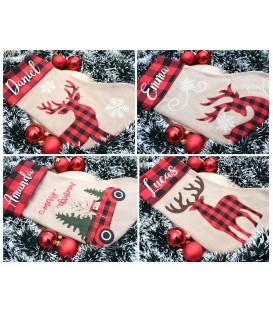 Calcetín Personalizado navideño