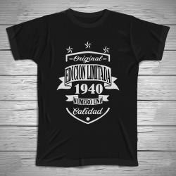 Camiseta edición limitada