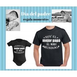 Camiseta soy el mejor papá del mundo mundial