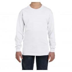 Camiseta niño manga larga personalizable