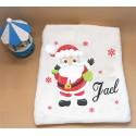 Manta personalizada Papá Noel