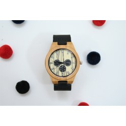 Reloj hombre madera spheres marm