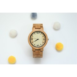 Reloj hombre todo madera