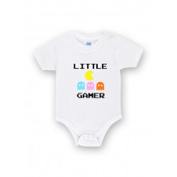 Body bebe personalizado little gamer