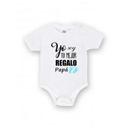 Body bebé personalizado soy tu mejor regalo