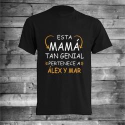 Camiseta mama genial