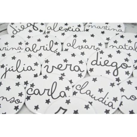 Chapas estrellas