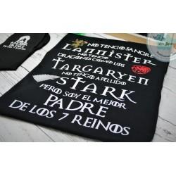 Camiseta el mejor padre de los 7 reinos
