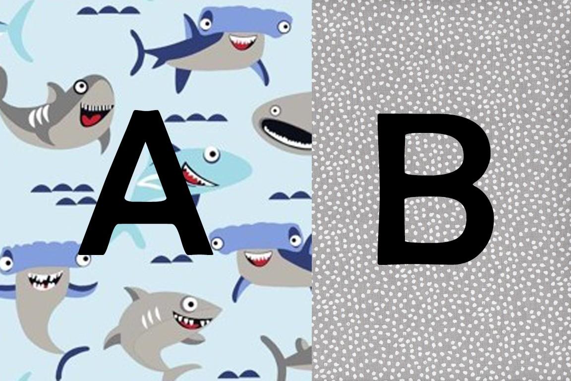 shark tiburón /gris